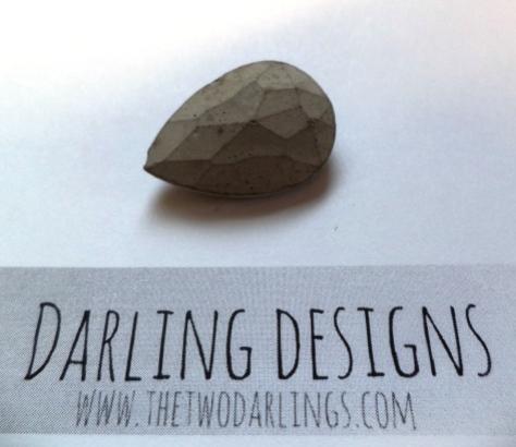 diy concrete jewellry the two darlings blog fashion beauty