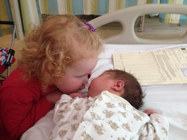 sisters new baby toddler big sister the two darlings