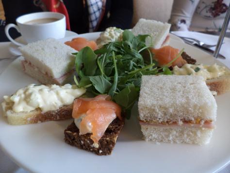 afternoon tea lyrath estate kilkenny ireland the two darlings review mummy blogger ireland savory